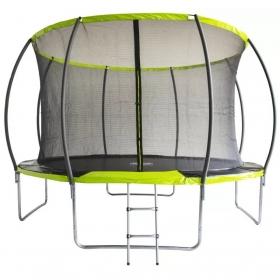 Батут Fitness Trampoline GREEN 12 FT Extreme INSIDE (4 опоры)
