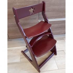 Детский растущий регулируемый стул Ростик/Rostik (венге)