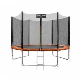 Батут Atlas Sport 312см (10ft) PRO ORANGE (3 ноги) (усиленные опоры)