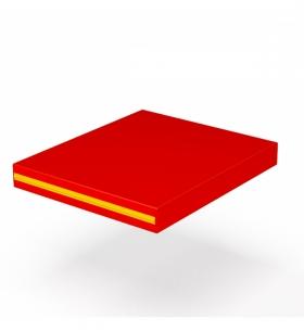 Мат гимнастический 60х70 см. (красный)