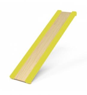 Горка для шведской стенки (желтые бортики)