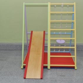 Спортивный комплекс Первые шаги складной (вариант 1)