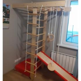 Детский игровой комплекс Крепыш Т-образный