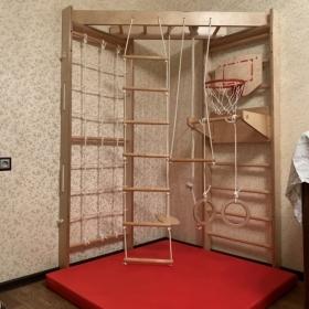 Детский спортивный уголок Крепыш Угловой